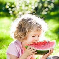 Criança e Comida de Verdade