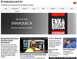 Homepage site Enxaqueca